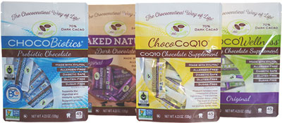 Healthy Chocolates Four Bags
